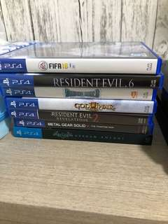 PS4 Games.