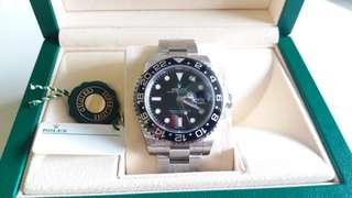 BNIB Rolex GMT Master 2
