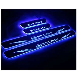Nissan Sylphy LED Animated Door Scuff Plates
