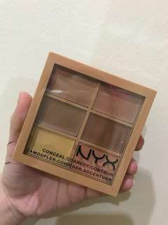 New! Include postage NYX Professional Makeup 3 C Palette Medium concealer