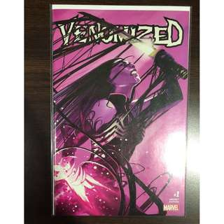VENOMIZED #1 STEPHANIE HANS C2E2 TRADE DRESS VARIANTS VF/NM