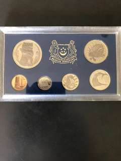 Singapore 1969 Proof Coin Set