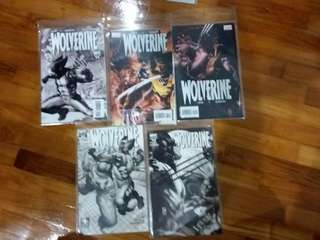 Marvel - Wolverine #50 to # 54