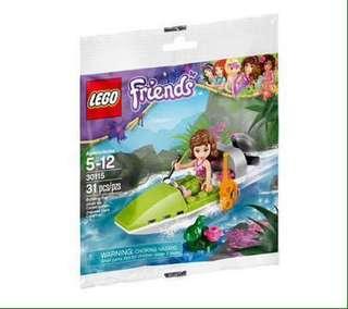 Lego Friends Polybag - Jungle Boat