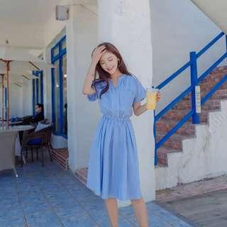 小清新約會洋裝