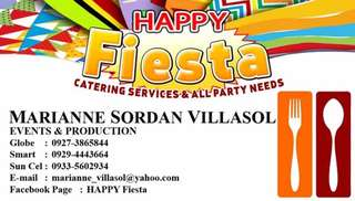 Happy Fiesta Catering Services