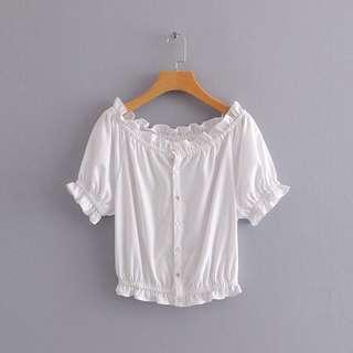 🔥Europe 2018 New Loose Button Short Sleeve Shirt
