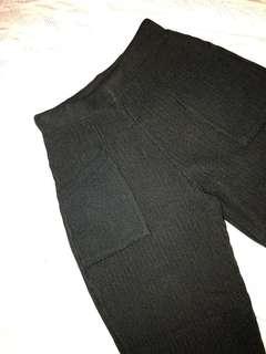 Black pants stretch
