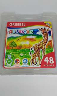 Greebel 48 oil pastels