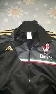 Jacket adidas AC milan hitam