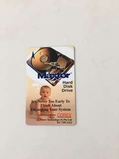 TransitLink Card - Maxtor Hard Disk Drive