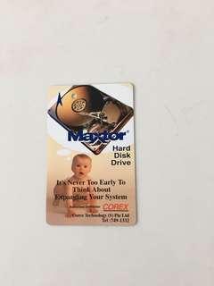TransitLink Card - Maxtor Hard Disk Drive