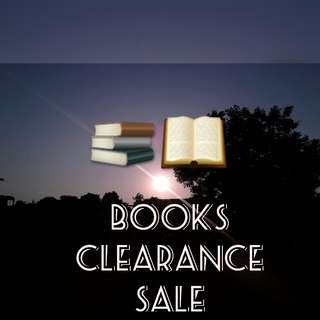 Books Clearance Sale [ENGLISH AND CHINESE]