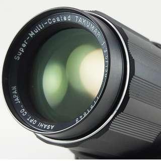 **日光銀鹽** 日鏡 Pentax SMC Takumar 135mm F3.5 M42接環 #848