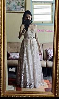Lace Long Gown