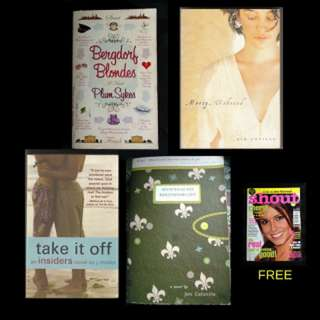 BOOK SELECTION: CHICKLIT / YOUNG ADULT - Bergdorf Blondes * Mercy, Unbound * Secrets of My Hollywood Life * Take It Off