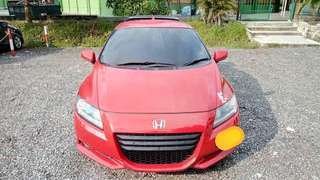 SAMBUNG BAYAR/CONTINUE LOAN  HONDA CR-Z HYBRID AUTO 1.5 YEAR 2012 MONTHLY RM 890 BALANCE 5 YEARS 2 MONTHS ROADTAX FEB 2019 SOUND SYSTEM  DP KLIK wasap.my/60133524312/crz