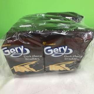 🚚 (新口味現貨)印尼Gery Saluut厚醬黑巧克力蘇打餅乾(一袋20包*2片共40片)