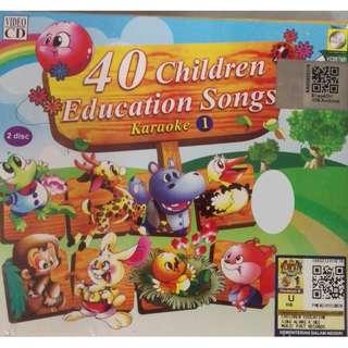 40 Children Education Songs Karaoke 1 (2VCD)