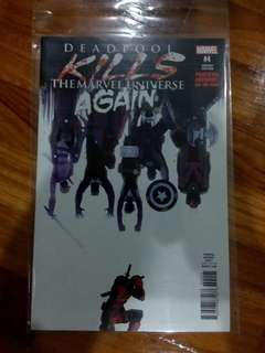 Marvel - Deadpool kills the marvel universe again #4 (Var Cvr)
