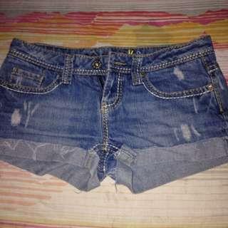 Blue Hotpants