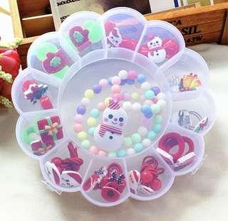 Kids/Girl Accessories sets_Christmas Theme w box