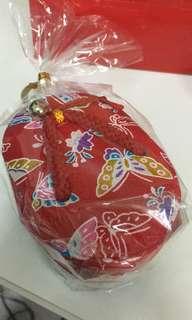 日本大板糖果傳統布盒