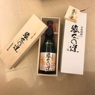 本格 YUKYU no MICHI shochu by KOMASSA JYOZO 720ml