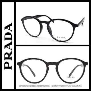 Prada OPR13TV round eyeglasses