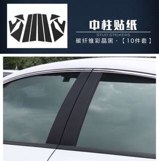 Honda civic decal for side window