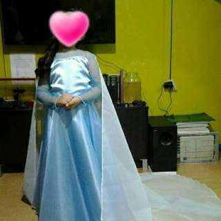 Elsa Costume Gown for Kids