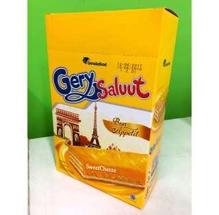 🚚 (現貨)印尼Gery Saluut厚醬起司威化餅(一盒20入)