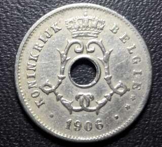 Koin asing belgie 1906