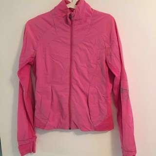 Price Drop-Pink Lululemon Running Jacket