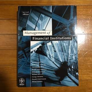 [BN] Management of Financial Institution 2nd Edition