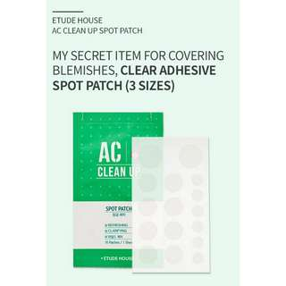 Etude House AC CLEAN UP SPOT PATCH