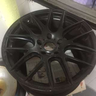 Rim bsa 18inci for bmw