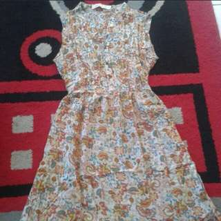 Mini Dress Batik Hippy Butik