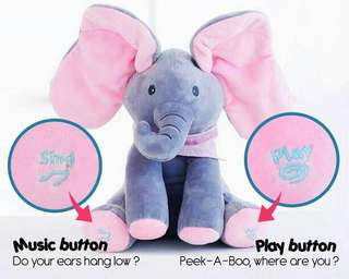 MUSIC ELEPHANT TOY
