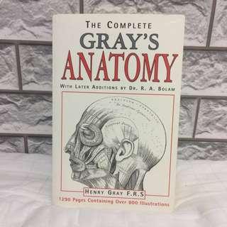 Original Gray's Anatomy