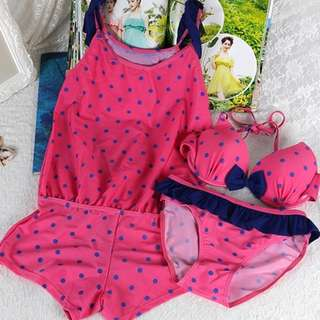 Sweet  swimwear / beach wear Korean style