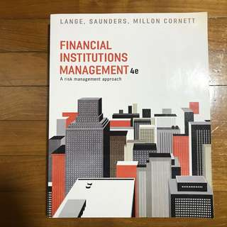 [BN] Financial Institutions Management 4th Edition