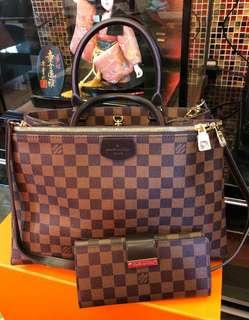 LV Bundle Bag & Wallet