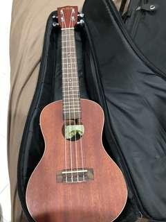 Kala ka-ce mahogany concert ukulele