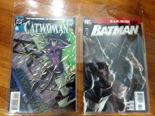 DC - Catwoman #0 and Batman #81