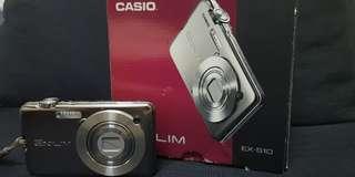 🚚 CASIO EXILIM EX-S10最薄千萬畫素數位相機(二手九成新,附配件)