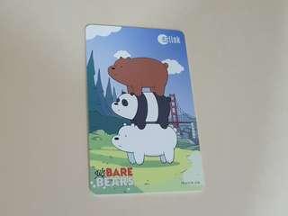 Cute We Bare bears Ezlink Card