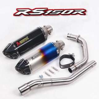 Akrapovic Honda RS150R (stainless steel)