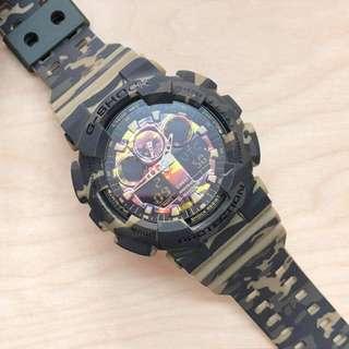 G-Shock GA-100CM Camo Series