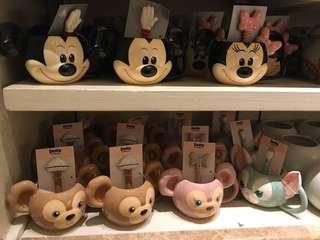 迪士尼馬克杯附攪棒棒